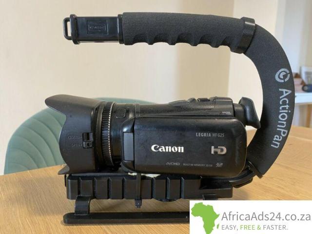 Canon Legria HF25 HD Camera - 1